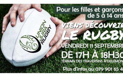 Atelier découverte rugby