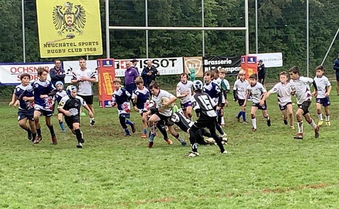 Photo des Juniors de l'UJR au tournoi rugby de Neuchate
