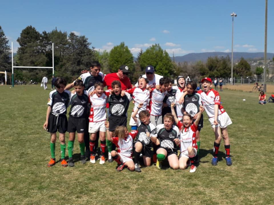 Juniors à Moges - Union Jura Rugby